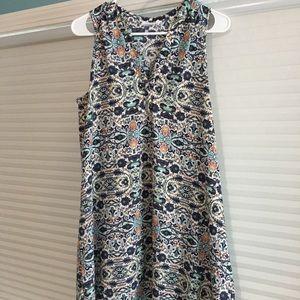 Lush summer paisley dress